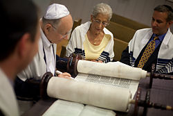 Reading Torah in the Chapel