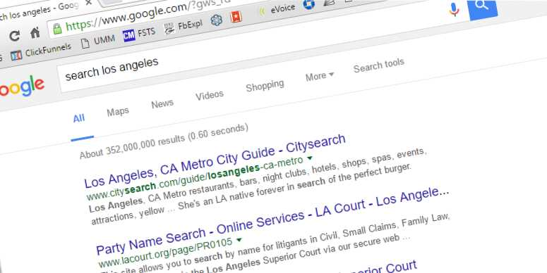 Los Angeles Search Marketing Image