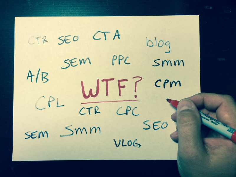 What is SEM, SEO, PPC (and all that other alphabet soup)?