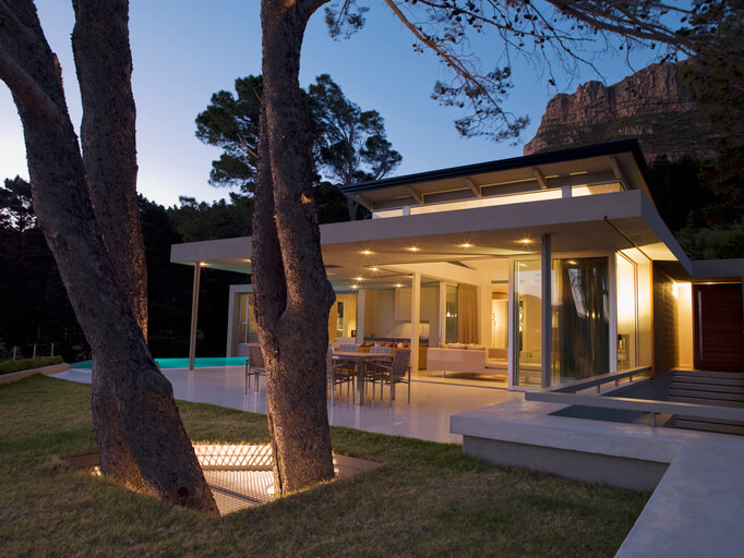 Outdoor lighting makes your home shine from the outside, in