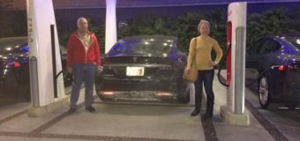 Tesla Model S Road Trip Goes Cross-Country For $0