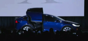 Tesla introduces first all-electric SUV